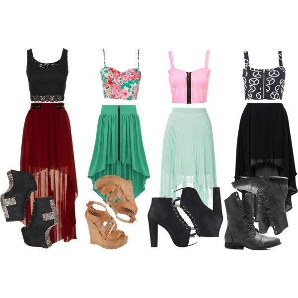 moderne i trendi kombinacije suknje 6