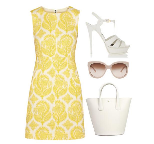 Polyvore kombinacije ljetne haljine 1