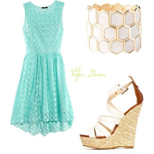Polyvore kombinacije ljetne haljine 13