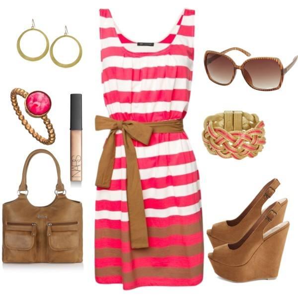 Polyvore kombinacije ljetne haljine 16