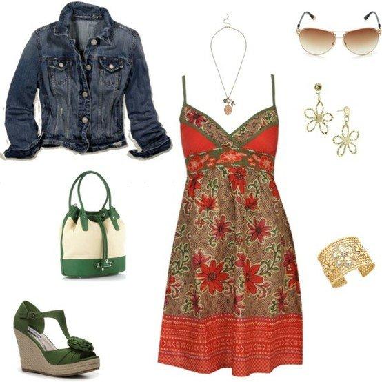 Polyvore kombinacije ljetne haljine 3