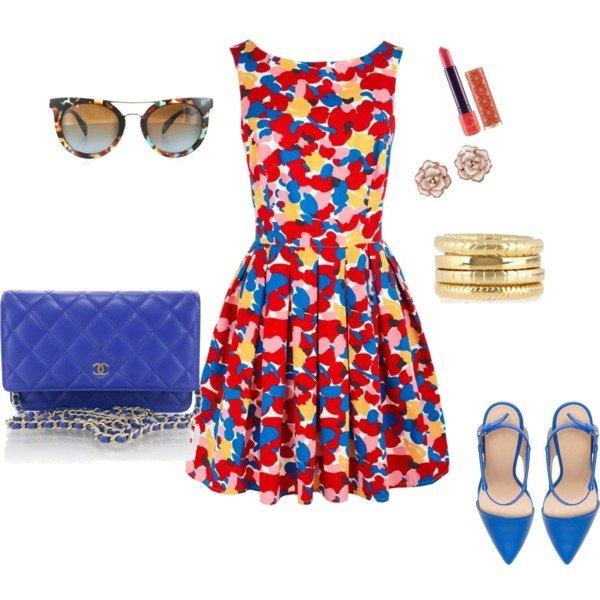 Polyvore kombinacije ljetne haljine 6