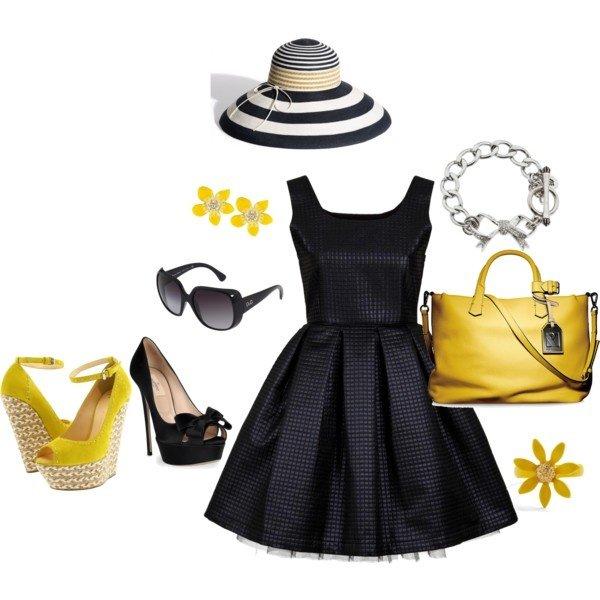 Polyvore kombinacije ljetne haljine 7
