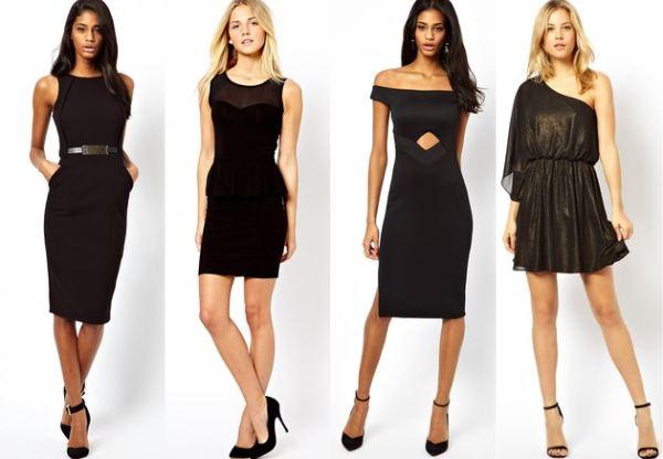 crna haljina ljeto