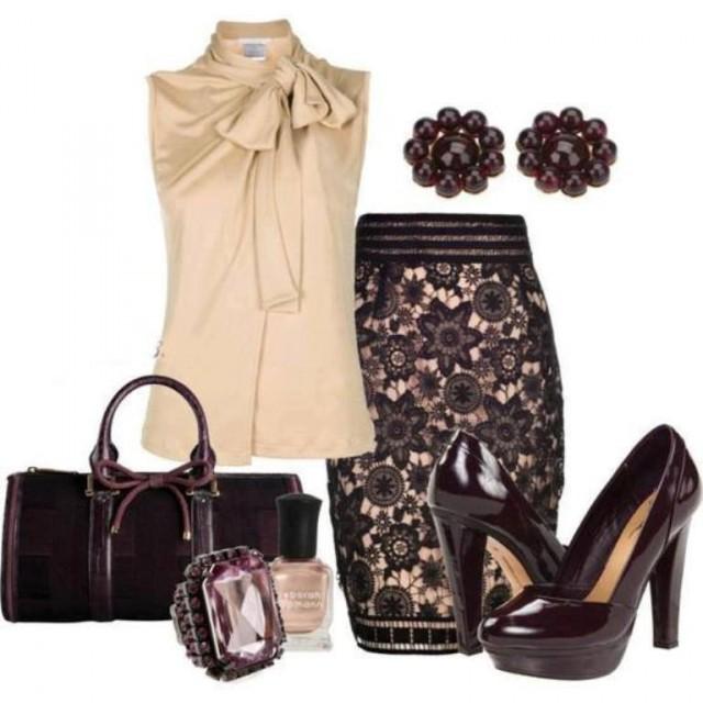 pencil suknja kombinacije 1