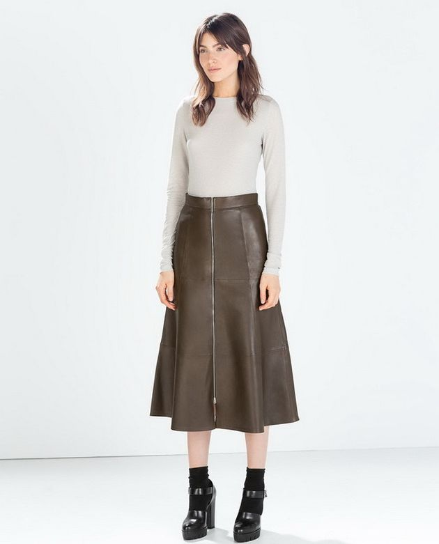 trendi suknje jesen 2014 2