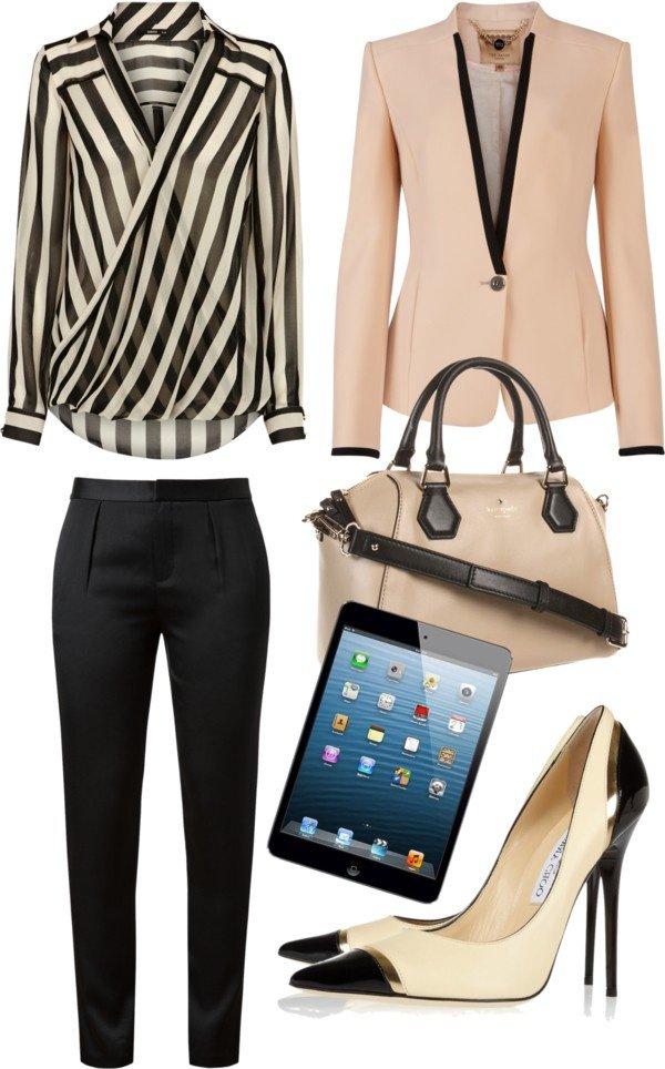 modne kombinacije zaposlene zene 3