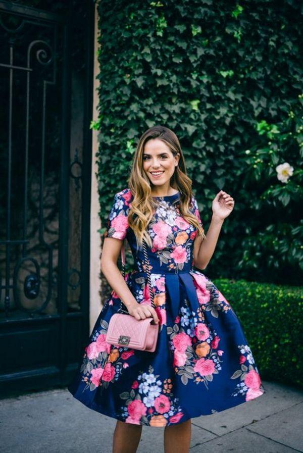 haljina sa cvjetnim printom