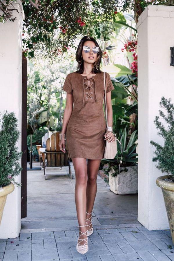 haljina sa dekolteom