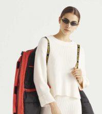 Bijeli džemper iz Bershke