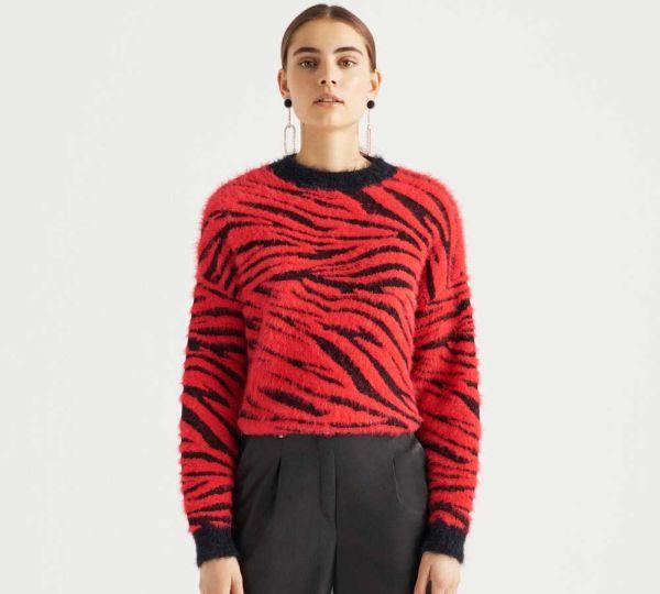 Bershka ženski džemperi za jesen/zima 2018 – 2019 - Ženstvena