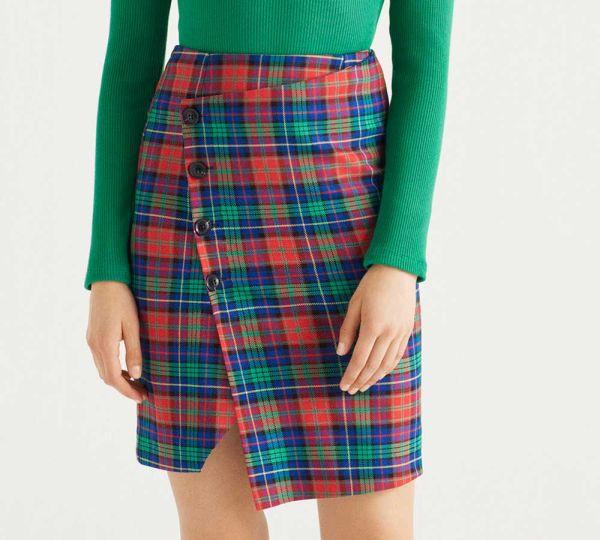 Trendi karirana suknja za jesen 2018