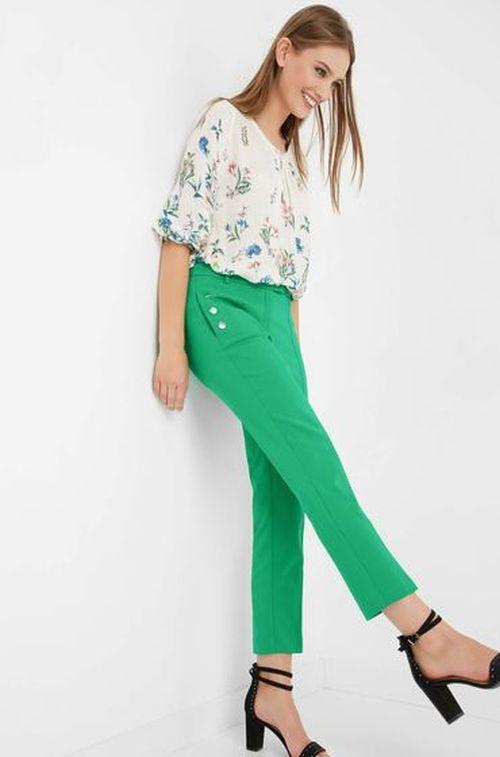 Orsay - zelene ženske hlače