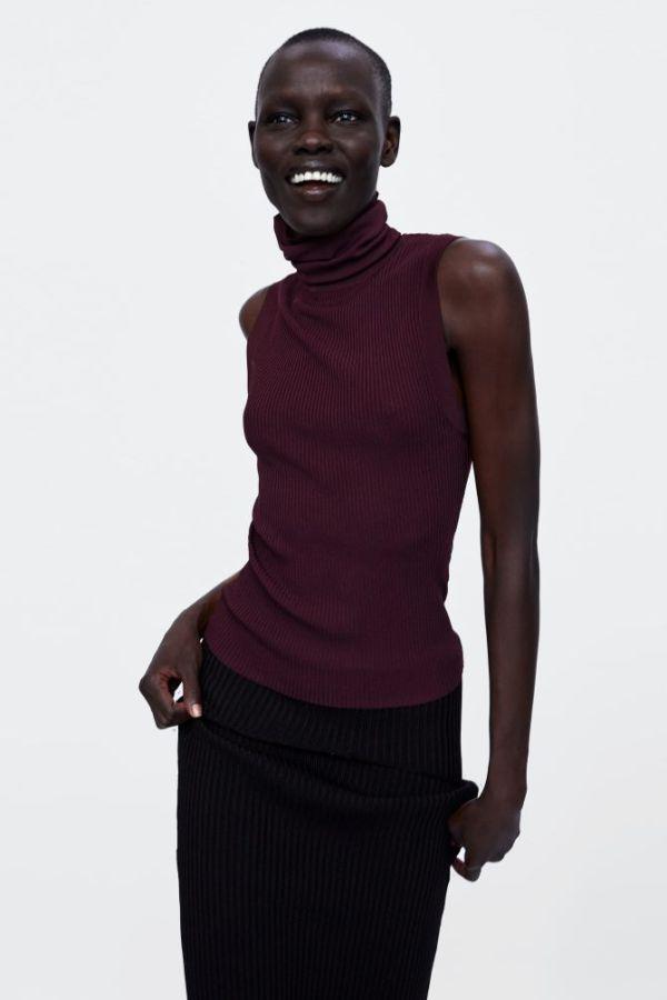 Zara burgundy boja za jesen 2018