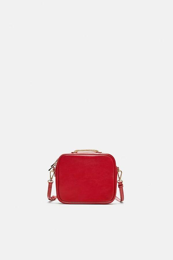 Zara - mala crvena trobica za svečane modne kombinacije