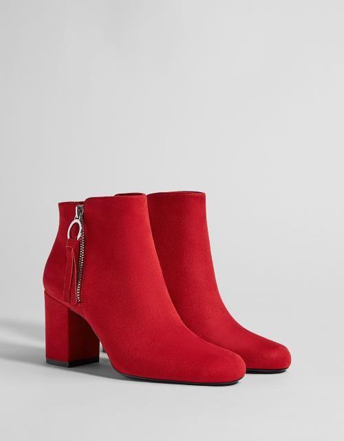 Trendi crvene čizme za jesen 2018